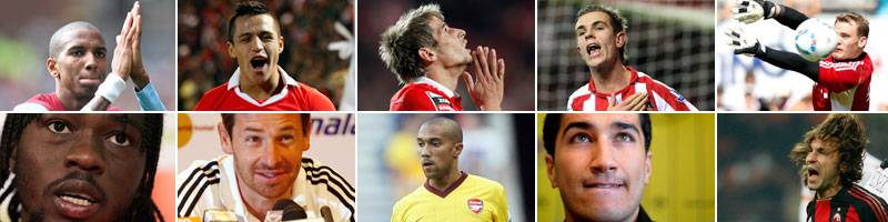 top ten best soccer transfers 2011/2012