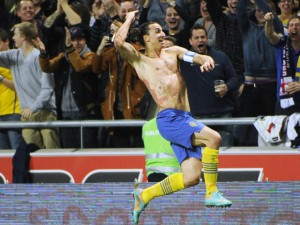 Zlatan Ibrahimovic Amazing Goal Against England